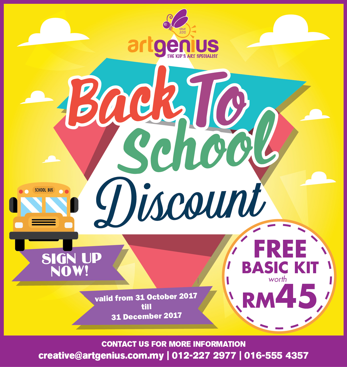 Back to School Promotion 2017