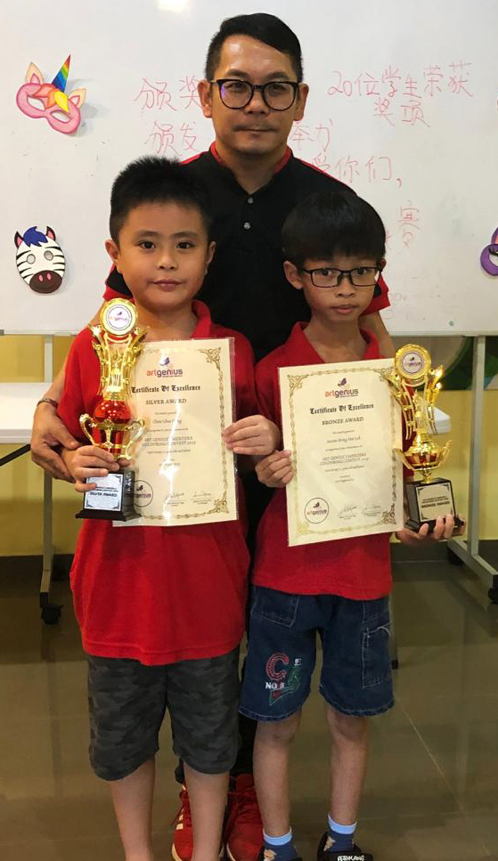 Art Genius Merdeka Colouring Contest 2019 2nd and 3rd Prize