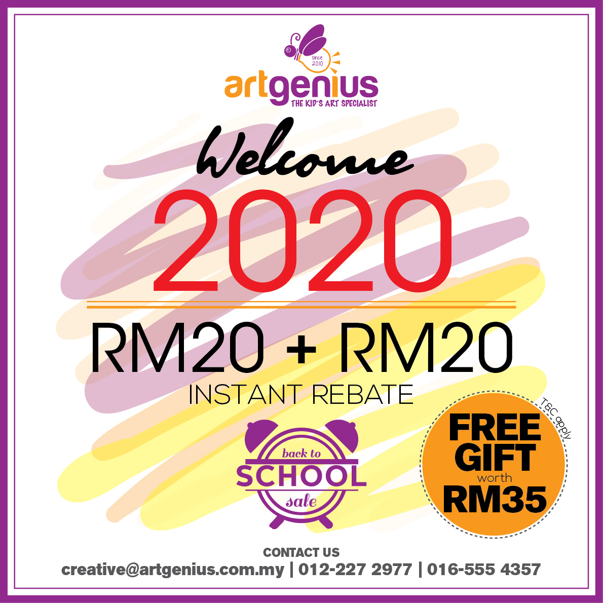 2020 Back to School Promotion