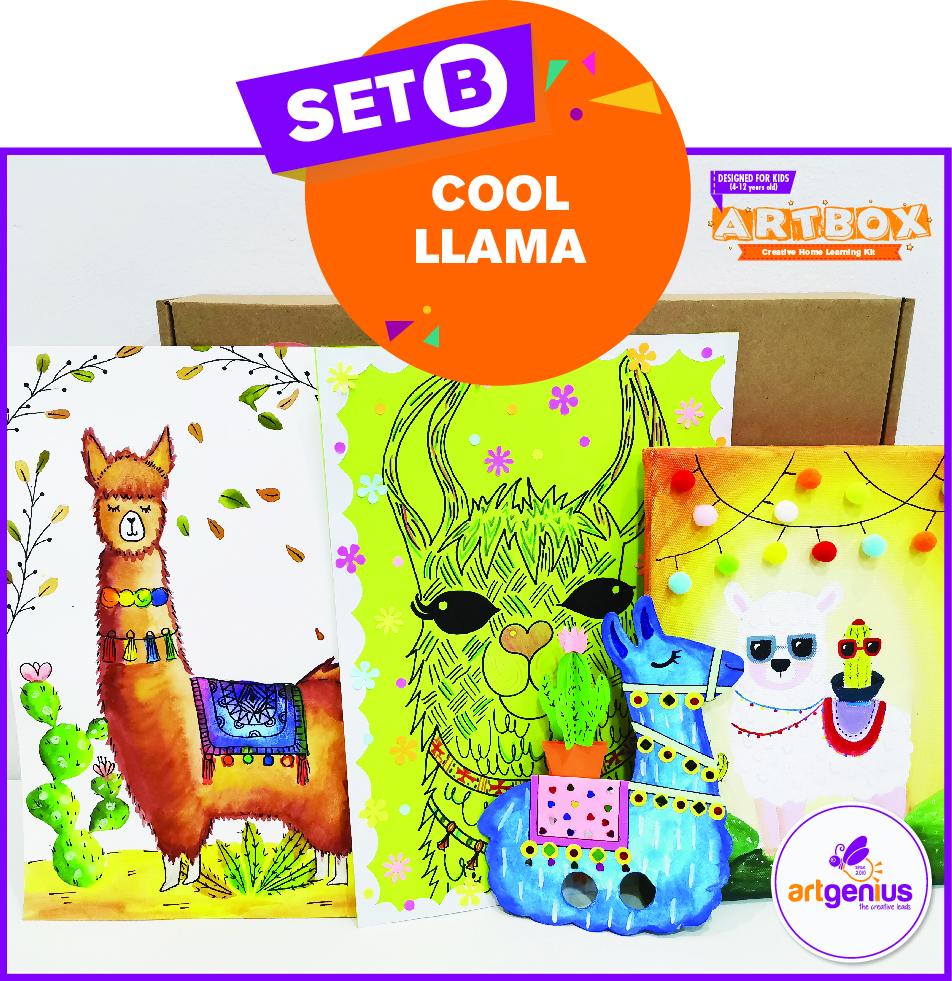 Artbox Set B Cool Llama