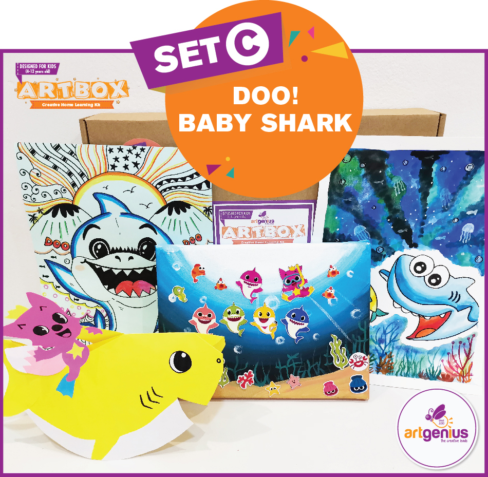 Artbox Set C Doo Baby Shark