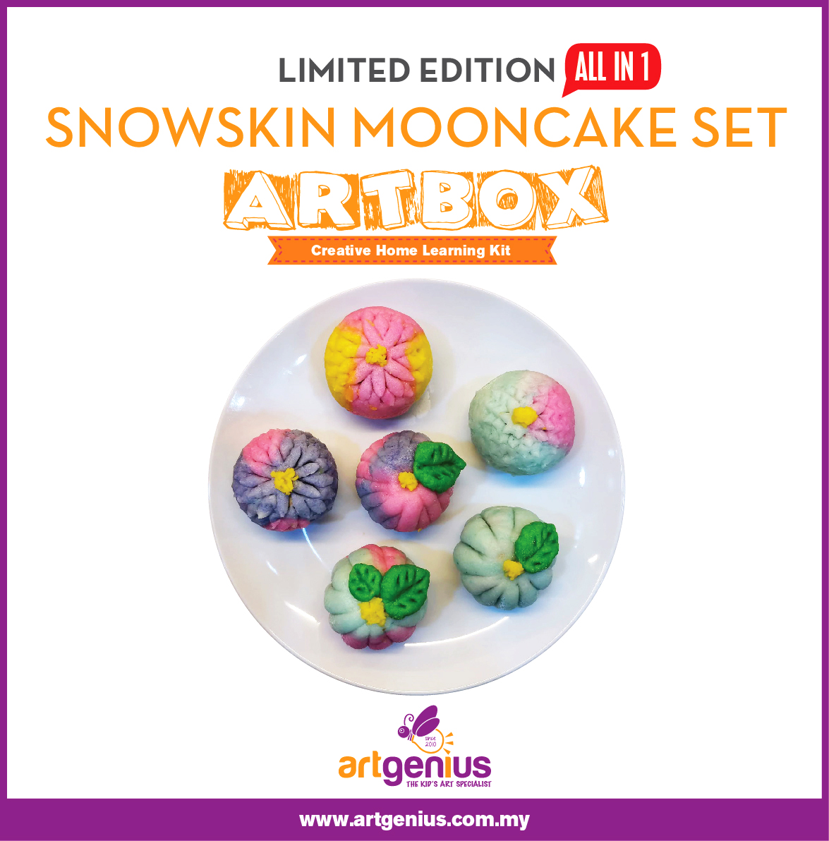Limited Edition DIY Snowskin Mooncake Set
