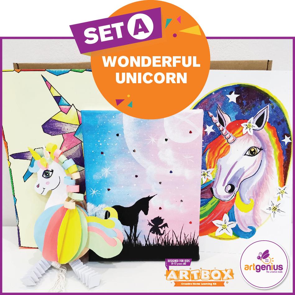 Artbox Set A Wonderful Unicorn