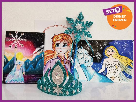 Artbox Set E Frozen Disney