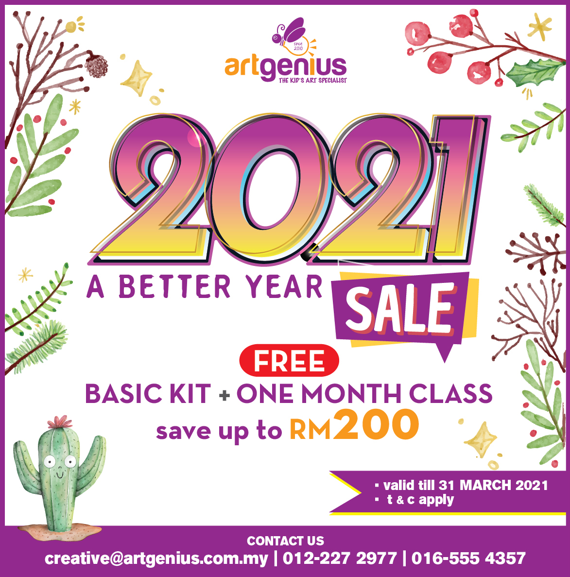 A Better Year 2021 Sale